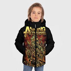 Куртка зимняя для мальчика Asking Alexandria цвета 3D-черный — фото 2