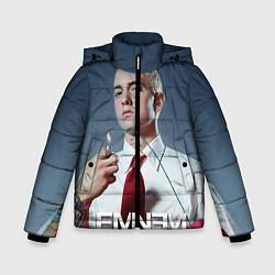 Куртка зимняя для мальчика Eminem Fire цвета 3D-черный — фото 1