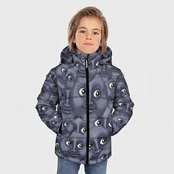 Куртка зимняя для мальчика Эмодзи цвета 3D-черный — фото 2