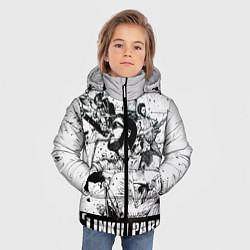 Куртка зимняя для мальчика Linkin Park цвета 3D-черный — фото 2