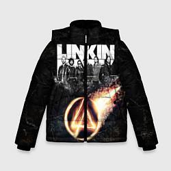 Куртка зимняя для мальчика Linkin Park: Comet цвета 3D-черный — фото 1