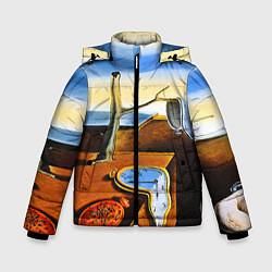 Куртка зимняя для мальчика Постоянство Памяти цвета 3D-черный — фото 1