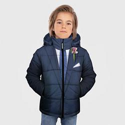 Куртка зимняя для мальчика Жених цвета 3D-черный — фото 2