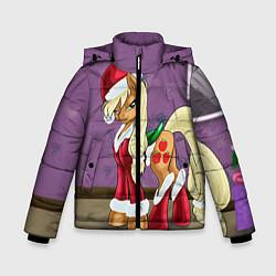 Детская зимняя куртка для мальчика с принтом Pinky Pie: Xmas, цвет: 3D-черный, артикул: 10076390606063 — фото 1