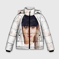 Детская зимняя куртка для мальчика с принтом Jeon Jung Kook, цвет: 3D-черный, артикул: 10076888306063 — фото 1