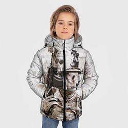 Куртка зимняя для мальчика ФСБ Альфа цвета 3D-черный — фото 2