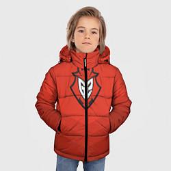 Куртка зимняя для мальчика G2 eSports Uniform цвета 3D-черный — фото 2
