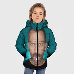 Куртка зимняя для мальчика Хаус с таблеткой цвета 3D-черный — фото 2