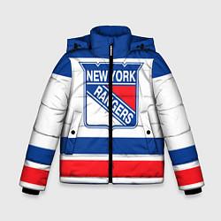 Куртка зимняя для мальчика New York Rangers цвета 3D-черный — фото 1