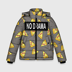 Куртка зимняя для мальчика No drama цвета 3D-черный — фото 1