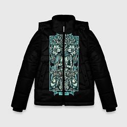 Куртка зимняя для мальчика Дева цвета 3D-черный — фото 1