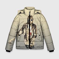 Куртка зимняя для мальчика Kurt Art цвета 3D-черный — фото 1