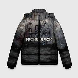 Куртка зимняя для мальчика Nickelback Repository цвета 3D-черный — фото 1