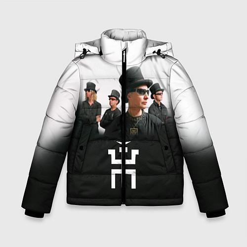 Зимняя куртка для мальчика Пикник / 3D-Черный – фото 1