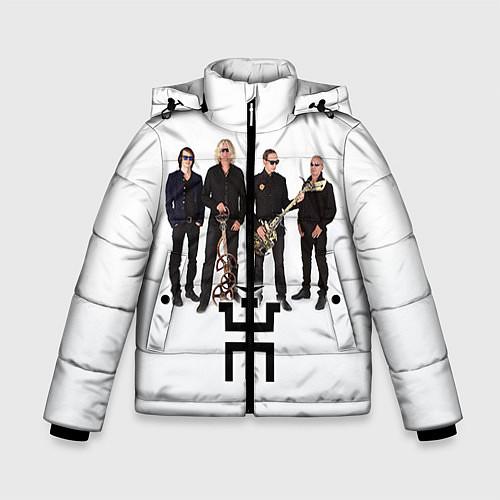 Зимняя куртка для мальчика Группа Пикник / 3D-Черный – фото 1
