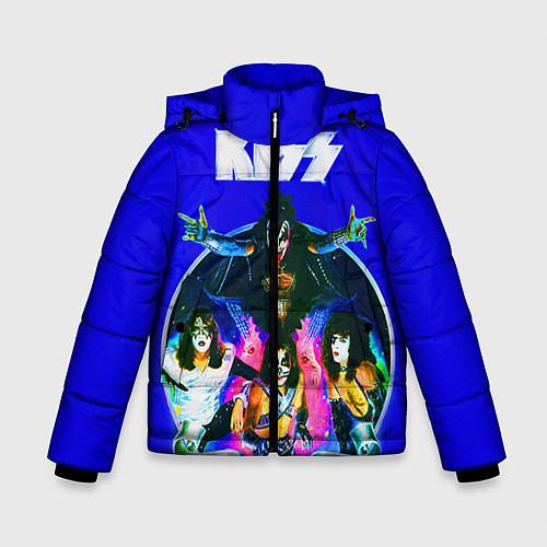 Зимняя куртка для мальчика Kiss Show / 3D-Черный – фото 1