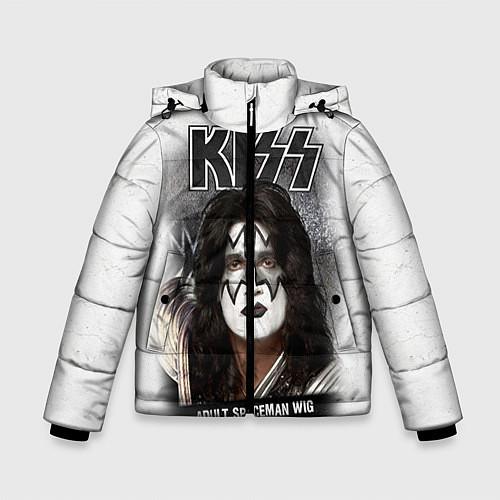 Зимняя куртка для мальчика KISS: Adult spaceman wig / 3D-Черный – фото 1