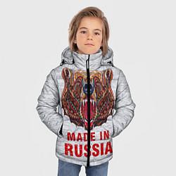 Куртка зимняя для мальчика Bear: Made in Russia - фото 2