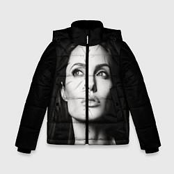 Куртка зимняя для мальчика Mono Jolie цвета 3D-черный — фото 1
