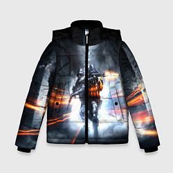 Куртка зимняя для мальчика Battlefield Hardline цвета 3D-черный — фото 1