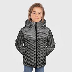 Куртка зимняя для мальчика Кольчуга цвета 3D-черный — фото 2