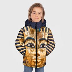 Куртка зимняя для мальчика Фараон цвета 3D-черный — фото 2