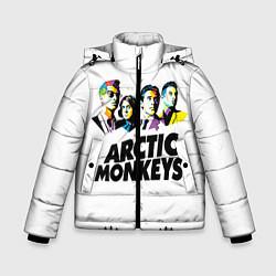 Куртка зимняя для мальчика Arctic Monkeys: Music Wave - фото 1
