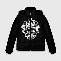 Детская зимняя куртка для мальчика с принтом The Truth Is Stranger, цвет: 3D-черный, артикул: 10088594006063 — фото 1
