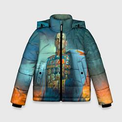 Куртка зимняя для мальчика Жуков цвета 3D-черный — фото 1