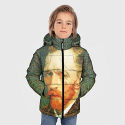 Куртка зимняя для мальчика Ван Гог цвета 3D-черный — фото 2