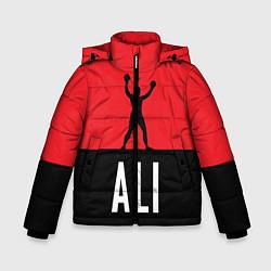 Куртка зимняя для мальчика Ali Boxing цвета 3D-черный — фото 1