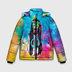 Куртка зимняя для мальчика Хиппи 9 цвета 3D-черный — фото 1