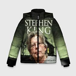 Куртка зимняя для мальчика Bestselling Author цвета 3D-черный — фото 1