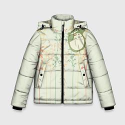 Куртка зимняя для мальчика Тоторо цвета 3D-черный — фото 1