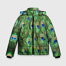 Детская зимняя куртка для мальчика с принтом Life is beautiful, цвет: 3D-черный, артикул: 10096428506063 — фото 1