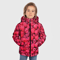 Куртка зимняя для мальчика Малинки цвета 3D-черный — фото 2