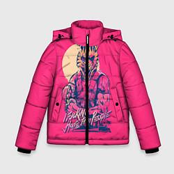 Куртка зимняя для мальчика If juking hate these people цвета 3D-черный — фото 1