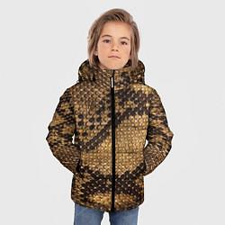 Куртка зимняя для мальчика Змеиная кожа - фото 2