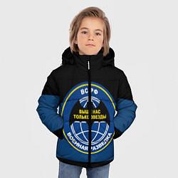 Куртка зимняя для мальчика ВС РФ: Военная разведка цвета 3D-черный — фото 2
