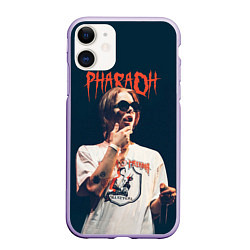Чехол iPhone 11 матовый Pharaoh цвета 3D-светло-сиреневый — фото 1