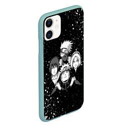 Чехол для iPhone 11 матовый с принтом НАРУТО, цвет: 3D-мятный, артикул: 10209469305889 — фото 2
