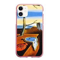 Чехол iPhone 11 матовый Постоянство Памяти цвета 3D-баблгам — фото 1