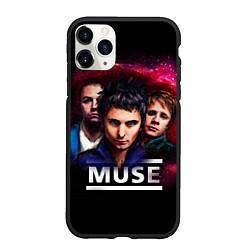 Чехол iPhone 11 Pro матовый Muse Band цвета 3D-черный — фото 1