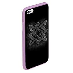 Чехол iPhone 6/6S Plus матовый Звезда Сварога цвета 3D-сиреневый — фото 2