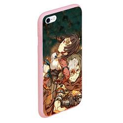 Чехол iPhone 6/6S Plus матовый Воин крепости цвета 3D-баблгам — фото 2