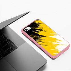 Чехол iPhone 6/6S Plus матовый Имперский флаг России цвета 3D-баблгам — фото 2