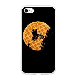 Чехол iPhone 6/6S Plus матовый Wafer Rider цвета 3D-белый — фото 1