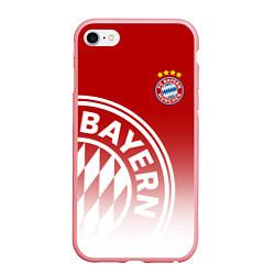 Чехол iPhone 6/6S Plus матовый ФК Бавария цвета 3D-баблгам — фото 1