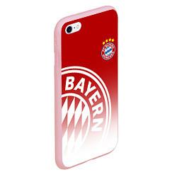 Чехол iPhone 6/6S Plus матовый ФК Бавария цвета 3D-баблгам — фото 2