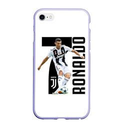 Чехол iPhone 6/6S Plus матовый Ronaldo the best цвета 3D-светло-сиреневый — фото 1